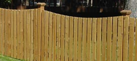 Privacy Wood Fencing