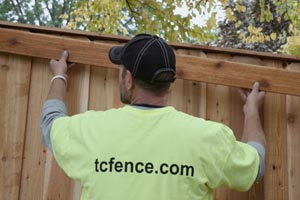 Commercial Wood Fences Mn