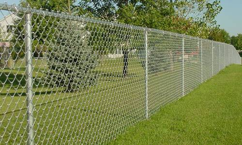 Image result for Chain-Link Fence
