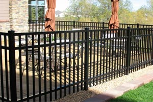MN Ornamental Aluminum Commercial Fences Twin Cities