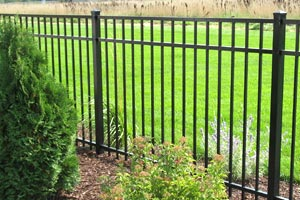 MN Aluminum Metal Fences Twin Cities