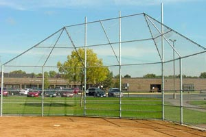 Baseball Field Backstop Installation MN