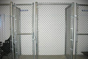 Chain Link Partitions For Public Storage Minneapolis St Paul