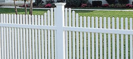 Vinyl PVC Picket Fences
