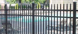 Commercial Aluminum Decorative Fences
