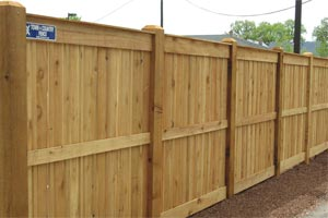 MN Commercial Wooden Fence Contractor