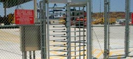 Full Height Turnstile Gates