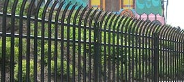 Security Ornamental Steel Fence