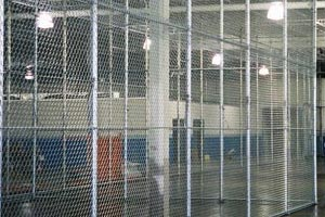 Indoor Cage Kennel Stall Installation Twin Cities