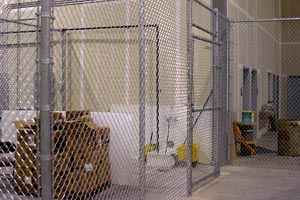 Interior Cage Installation Minneapolis St Paul