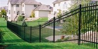 Steel Fence Construction