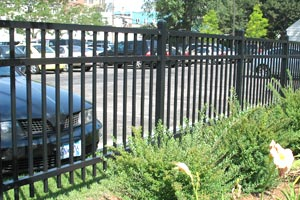 Twin Cities Security Steel Fence Installation