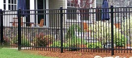 Steel Ornamental Fence