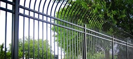 Commercial Steel Fencing Installation MN