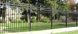 Steel Decorative Fencing