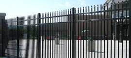 Industrial Steel Fence