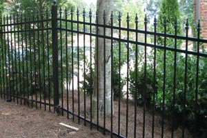 Steel Fence Installation MN