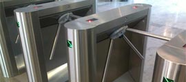 Waist Height Tripod Turnstiles