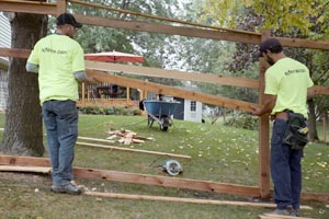 Wood Fence Installer Twin Cities MN