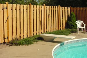 Wooden Pool Fences Twin Cities